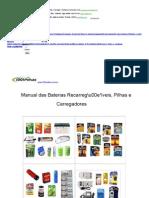 Carregando Baterias de Lítio-Polímero-Manual