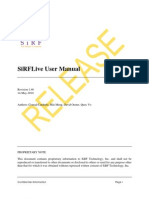 SiRFLive User Manual