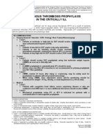 DVT Prophylaxis Icu
