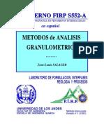analisis granulometrico metodos