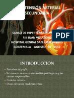 Hipertension Arterial Secundaria