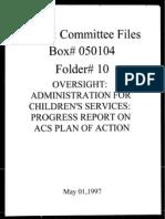 Box 050101 Folder 6 - May 1, 1997