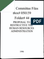 Box 050159 Folder 44 - 1996