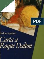 Carta a Roque Dalton. Isidora Aguirre