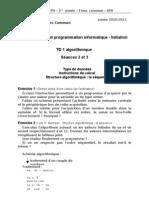 TD1 Algo