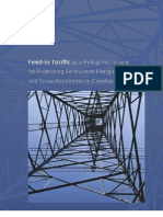 Feed-in tariffs and a policy instrument for promoting renewable energies and green economies in developing countries