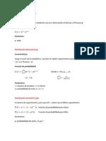 Distribuciones probabilisticas discretas