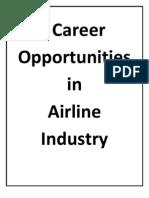 Career in Airline Industry