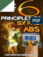 6 Principles to 6 pack Abs (Sneak Peak)
