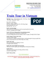 Train Tour in Vietnam