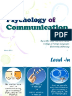 2_psychology of Communication