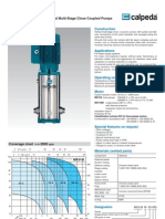 Calpeda MXV-B Vertical Multistage Pump