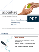 Accenture - MBA Careers July 2012