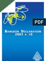 Bangkok Declaration 2003+ 10 of AIBD