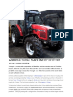 Agricultural Machinery Sector.