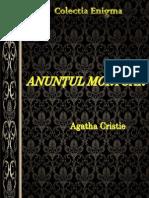 Agatha Christie - Anuntul Mortuar [v. VIO]