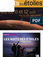 Nuit Des Etoiles 2012 - Dossier de Presse