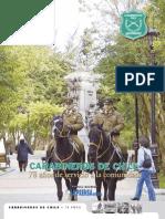 Carabineros de Chile 78 años Diario La Prensa Austral 27 abr 2005