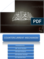 counter current mechanism