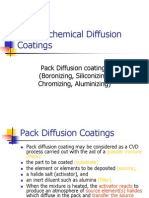 Thermochemical Diffusion Coatings