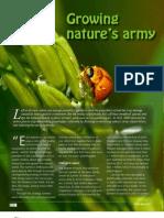 IRRI AR 2011 - Growing Nature's Army