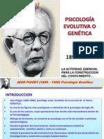 Teoría Genética de Jean Piaget