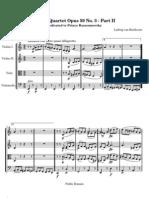 Quartet Opus 59No3 2-Let