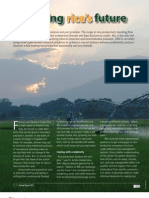 IRRI AR 2011 - Rewriting Rices Future
