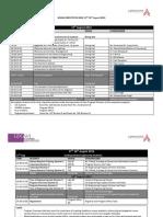 GD Goenka Event - UG Engineering Orientation Schedule