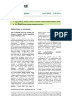 Hipo Fondi Finansu Tirgus Parskats 08 08 2012