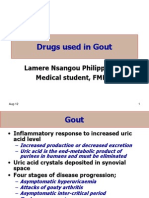 2- Drugs Used in Gout 2011
