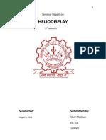 Heliodisplay Basic Working