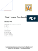 World Housing Encylopedia Italy
