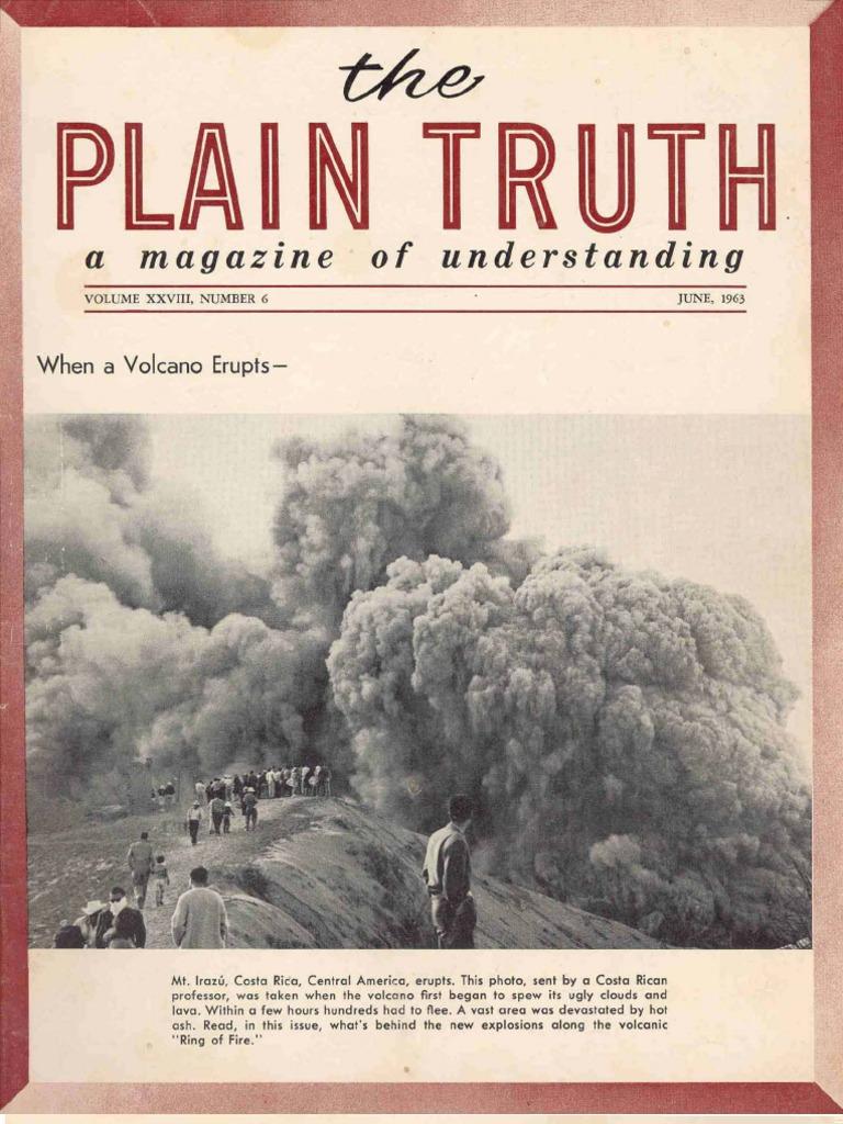 Plain Truth 1963 (Vol XXVIII No 06) Jun w  398abf106ed
