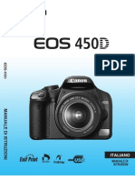 Libretto Istruzioni Canon Eos 450d
