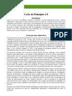 Carta de Principios - 1.0-1