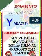 Actividades Semanales, Notas de Prensa, Guion PARTE II 30-07-12 AL 05-08-12