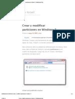 Crear y Modificar Particiones en Windows 7 _ Teofilo Israel _ Tips