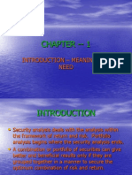Chapter -- 1 Introduction