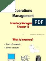 Ch12 - Inventory