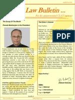 Abhyaas Law Bulletin - August 2012