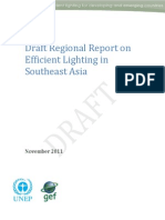 en.lighten, Draft Regional Report on Efficient Lighting in Southeast Asia, 11-2011