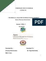 33 Dheeraj Trilokchandani - Technical Analysis of Indian Stock Market