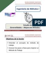 M3.1 IM I - USMP - Estudio de Métodos - Introducción