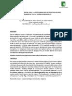 Analisis Instrumental Para La Determinacion de Textura en Seis Variedades de Papas Fritas Comerciales