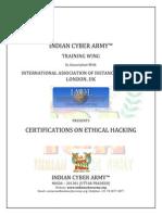 CyboArmourer - Certified Ethical Hacker
