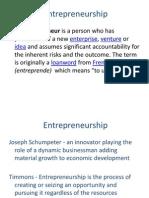 Entrepreneur Development Class