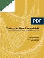 Livro Turismo de Base Comunitária