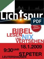 Plakat - Bibel