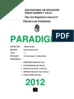 Monografia Paradigmas Final
